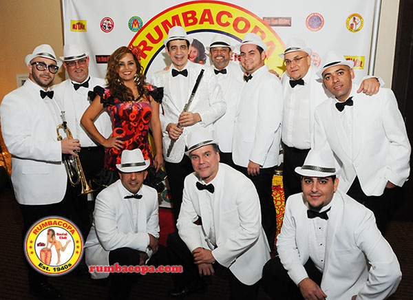 World Famous RUMBACOPA Social Club - Havana Nights authentic Cuban dance Show entertainment - Miami Florida orchestra